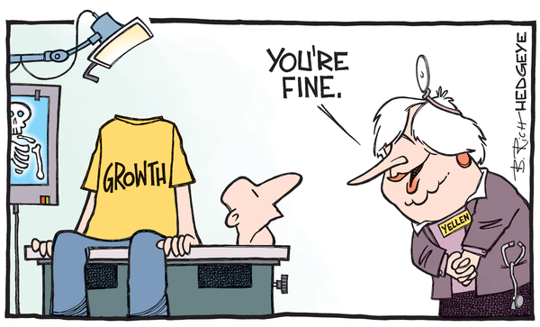 BREAKING: Fed Is Still Out To Lunch (Here's How To Play It) - Yellen cartoon 11.11.2015