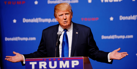 The Gloves Come Off For GOP & Dem Presidential Hopefuls - trump pic