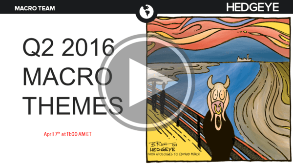Watch Live Today 11AM ET | Q2 2016 Macro Themes Conference Call  - Slide1