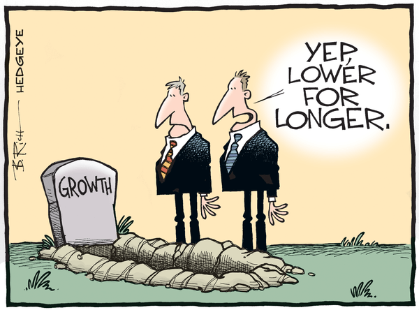 Growing Cracks In Macro Markets - Lower for longer cartoon 05.28.2015