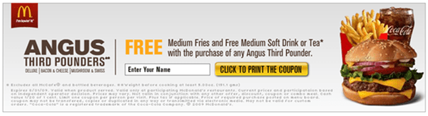 CKR - THE UNDERDOG SPEAKS UP! - CKR MCD Angus coupon