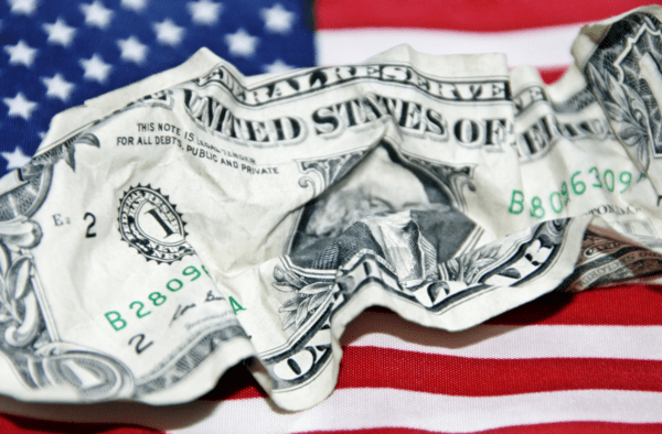 INSTANT INSIGHT: The Key Implications Of Oversold U.S. Dollar - dollar crumbled