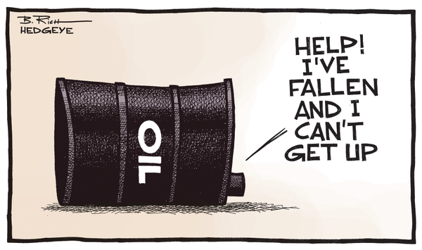 INSTANT INSIGHT | What's Really Driving Oil Prices - oil fallen and can t get up