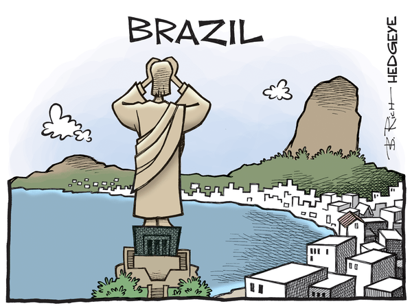 Cartoon of the Day: A Holy Mess - Brazil cartoon 04.19.2016
