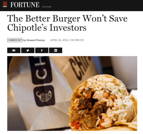Penney: The Better Burger Won't Save Chipotle's Investors - fortune chipotle