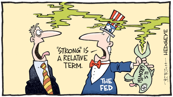 Who Do You Believe? Consensus GDP Estimates or Hedgeye? - growth  cartoon 04.05.2016