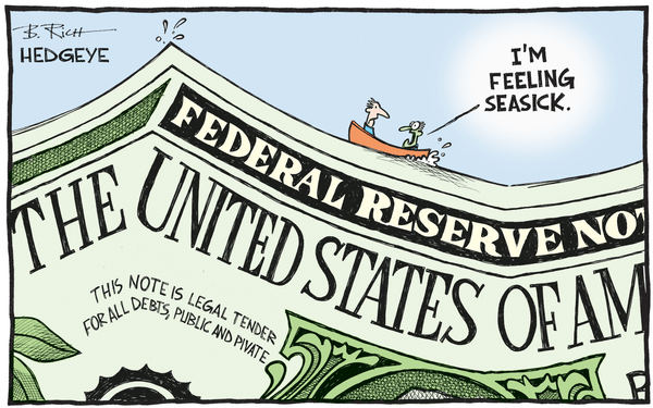This Week In Hedgeye Cartoons - Dollar cartoon 04.27.2016