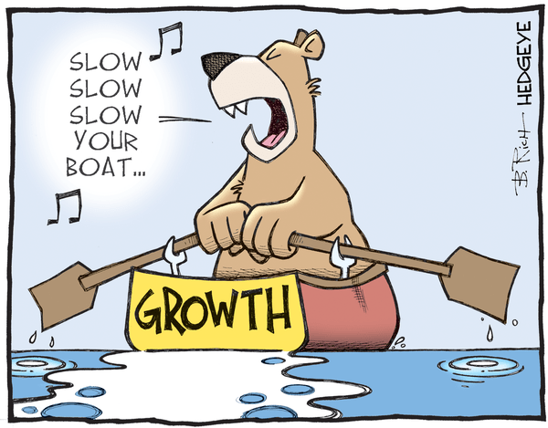 Cartoon of the Day: Slow Grrrrowth! - growth cartoon 05.03.2016NEW