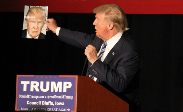 Trump's Victory Lap ... Sour Grapes From Cruz ... & Hillary's Heat-Bern - trump deal with it