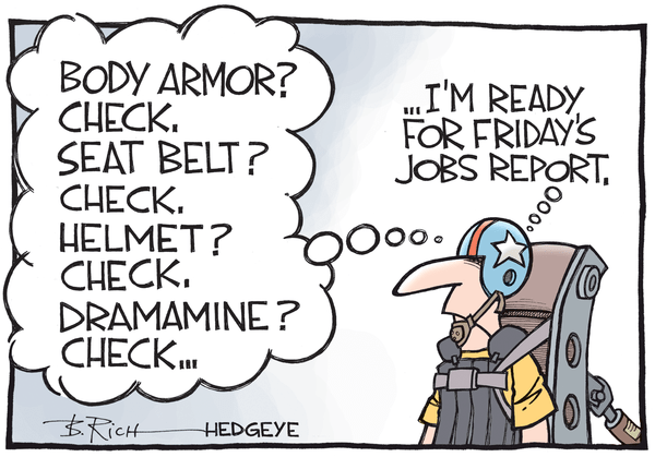 What To Watch Ahead Of Friday's Jobs Report: U.S. Dollar & Oil - Jobs report cartoon 06.04.2015