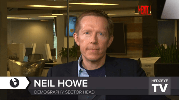 6 VIDEOS: 'About Everything' With Renowned Demographer Neil Howe - neil howe headshot