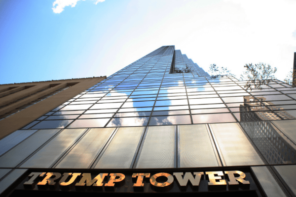 Trump Towers Over Divided GOP - trump tower