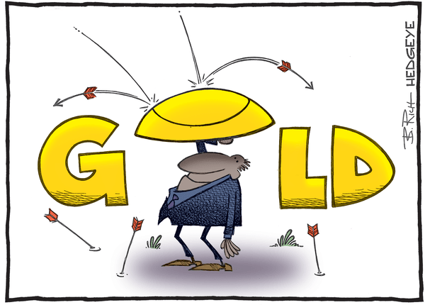 This Week In Hedgeye Cartoons - gold cartoon 05.11.2016