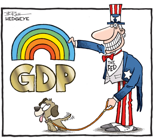 #Timestamped: Why The Worst Is Yet To Come For U.S. Growth - GDP cartoon 01.30.2015