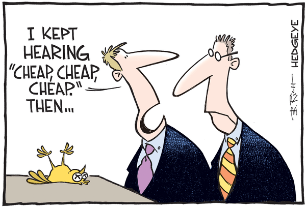 This Week In Hedgeye Cartoons - Cheap cartoon 05.16.2016