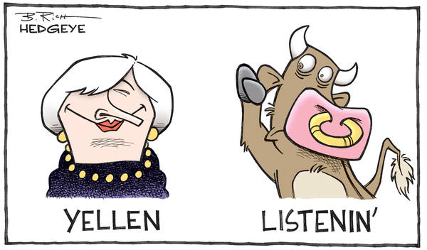 Fed-Induced Hyperventilation: A Buying Opportunity - Yellen cartoon 04.06.2016