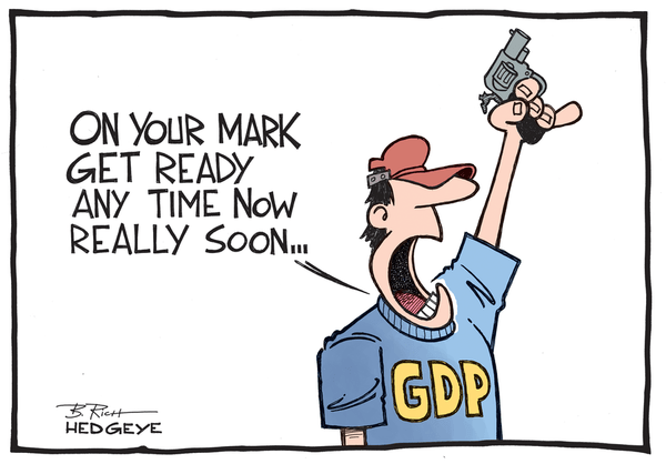 Bad Fed Estimate - On your mark GDP 6.12.2014