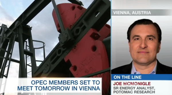 McMonigle At OPEC Meeting: Why $50 Oil Is Likely Temporary - z bnn