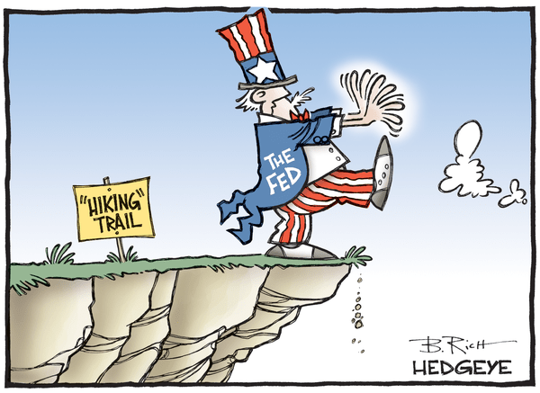 This Week In Hedgeye Cartoons - Fed Hike cartoon 06.01.2016