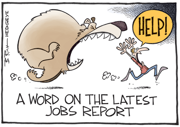 5 Charts: Why Today's Jobs Report Confirms The Past-Peak Trend (Yet Again) - jobs cartoon 10.05.2015