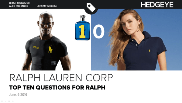 REMINDER: RL | TOP TEN QUESTIONS FOR RALPH - 6 6 2016 RL cover