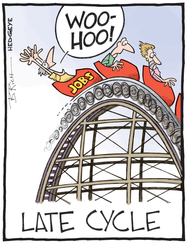 U.S. Jobs Signaling Late-Stage Risk - Jobs cartoon 06.05.2015