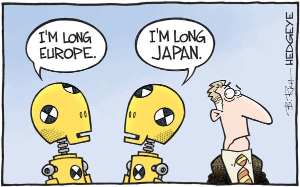 European Equities: Today's Pop Doesn't Buck The Terrible Trend - Europe Japan cartoon 04.04.2016