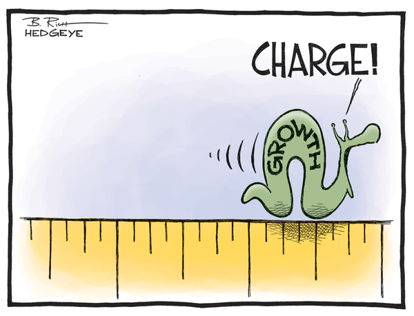 Got #GrowthSlowing? European Equities Hammered - growth cartoon 10.08.2014
