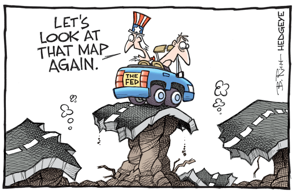 Cartoon of the Day: LOST - Fed cartoon 06.10.2016