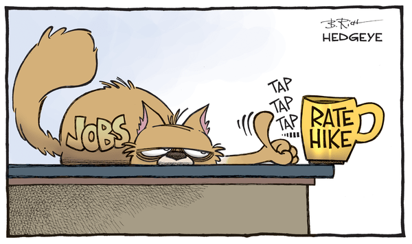What's Yellen's Update? - Jobs.rate hike cartoon 11.04.2015
