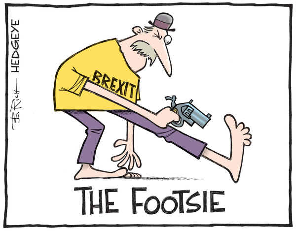 Cartoon of the Day: Shot In The FTSE - Brexit Footsie cartoon 06.24.2016