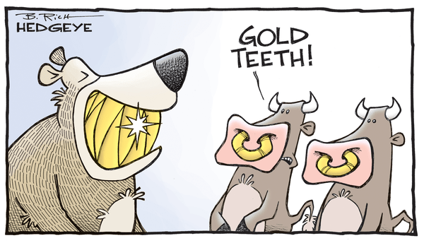 Hedgeye Guest Contributor | Wieler: Long Gold? A Post Brexit Update - gold cartoon 06.17.2016