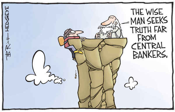 Cartoon of the Day: Guru Wisdom - central bankers cartoon 06.29.2016