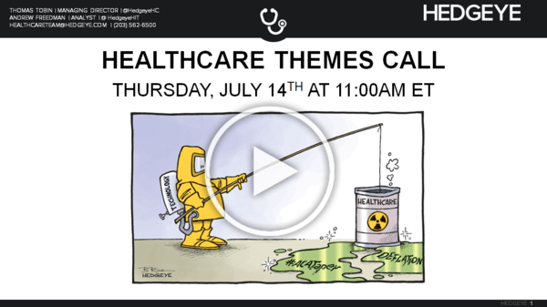 CALL INVITE | HEALTHCARE THEMES (7/14/16 at 11:00AM ET) - 20160707 Themes Cover2