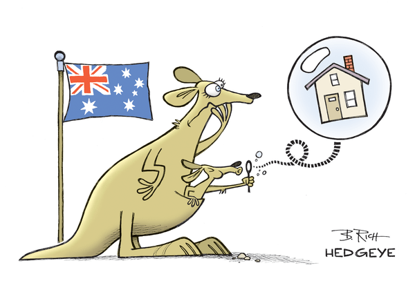 Banks on the Barbie: Four Short Ideas In Australia's Housing Bubble - Australia housing cartoon