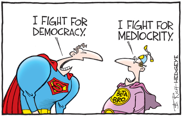 This Week In Hedgeye Cartoons - Beta Bro cartoon 07.14.2016