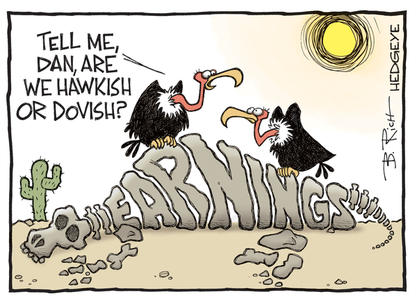 Cartoon of the Day: Extinct? - earnings cartoon 07.18.2016