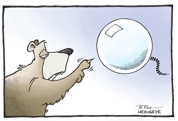 Bullish On Biotech? Don't Buy The Bubble Brofessor - Bubble bear cartoon 09.26.2014  1