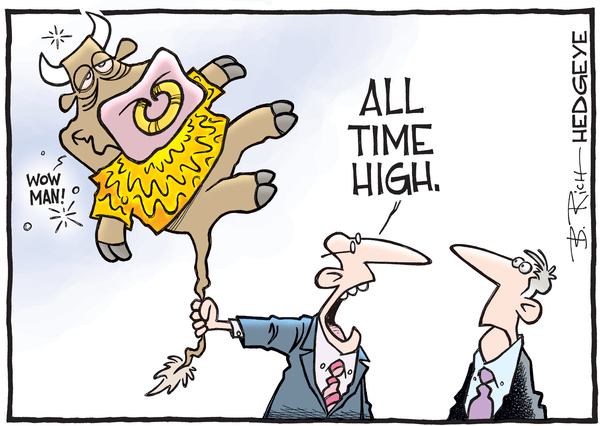 This Week In Hedgeye Cartoons - All time high cartoon 07.20.2016