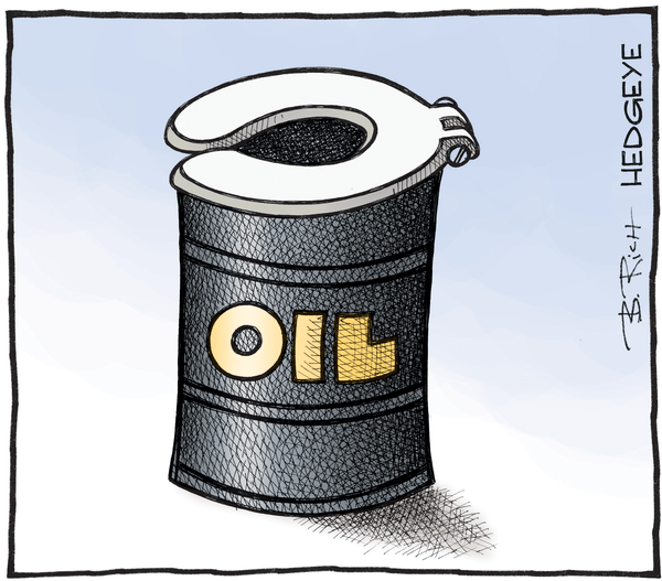 Oil Bulls Are Getting Pummeled as Long-Term Bears Get Paid - Oil cartoon 04.07.2016