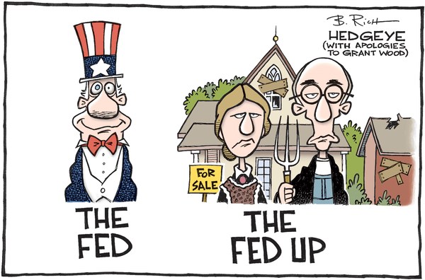 Fed Perpetuated Problem? Fed Study Finds Many Americans Have Negative Wealth - Fed Up cartoon 03.22.2016