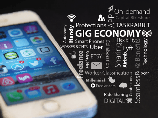 About Everything: The Gig Economy is Alive and Growing - gig econ