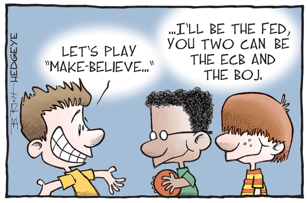 This Week In Hedgeye Cartoons - Central banks cartoon 08.12.2016