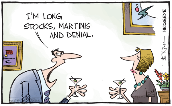 Capital One: Beware The Siren Song - denial cartoon 09.28.2015