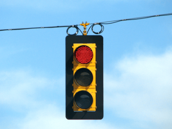 This Classic #LateCycle Indicator Is Flashing Red Around The Globe - traffic light red