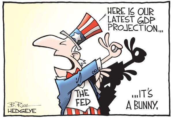 Cartoon of the Day: Projections - Fed bunny cartoon 08.19.2016