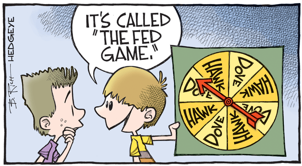 Cartoon of the Day: The Fed Game - Fed cartoon 08.22.2016