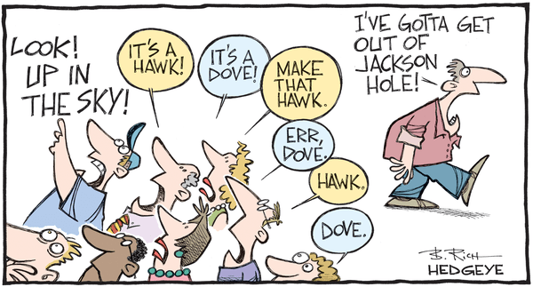 Cartoon of the Day: Fed-Induced Hyperventilation - Jackson Hole cartoon 08.25.2016