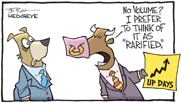 This Week In Hedgeye Cartoons - No volume cartoon 08.23.2016
