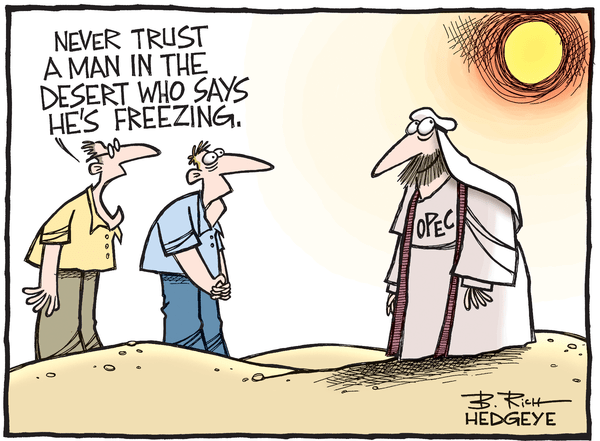This Week In Hedgeye Cartoons - OPEC cartoon 08.24.2016